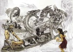 Legenda Tuan Tapa dan Sepasang Naga
